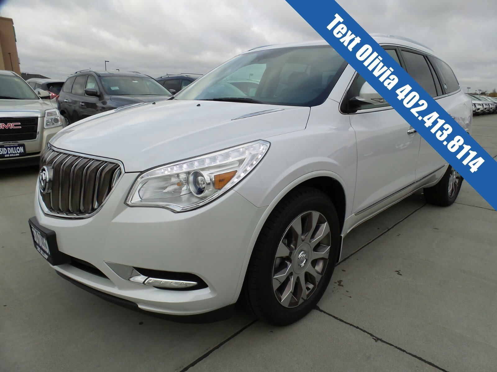 pre owned 2016 buick enclave premium suv in lincoln 4b16231a sid dillon auto group. Black Bedroom Furniture Sets. Home Design Ideas